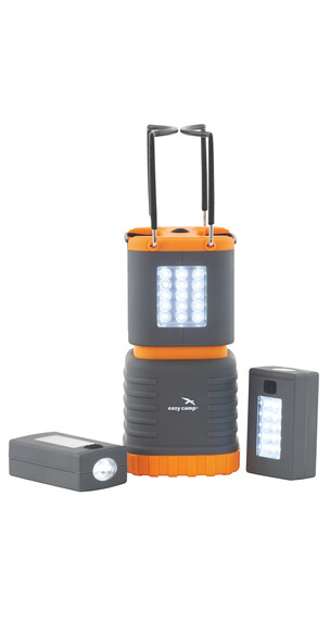 Easy Camp Sinai - Lanterne - gris/orange